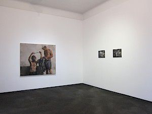 Sebastian Schrader »Black Field« exhibition view . maerzgalerie Berlin