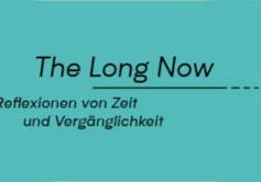 The Long Now - exhibition logo