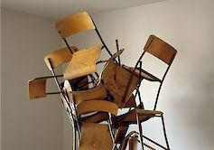 »Entanglement of Chairs« 2010, Lightjetprint, 152.4 x 121.9cm