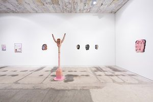 exhibition view »Fantasy electrifies my hand« REITER | Leipzig . photo: dotgain